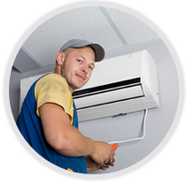 Billy aircon servicing contractor smiling