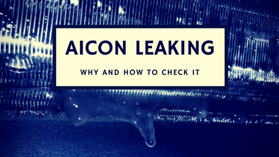 Why aicon leaking
